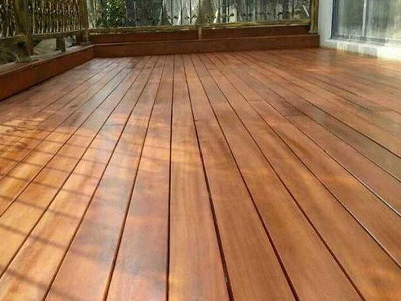 防腐木地板工程