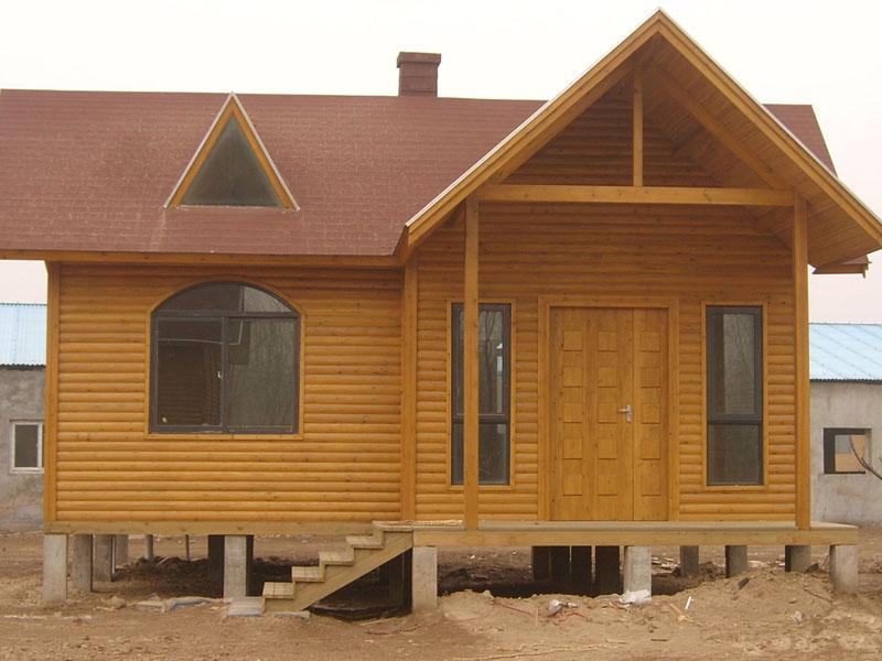 别墅防腐木木屋