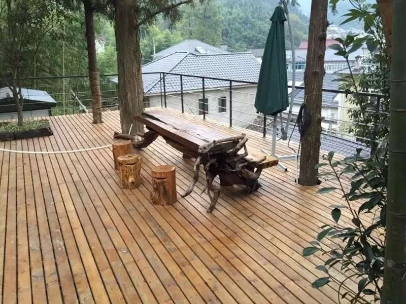 防腐木实木地板