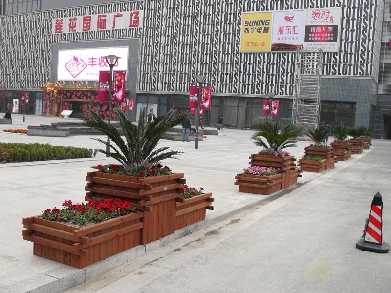 防腐木生态花箱