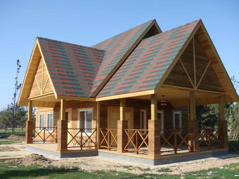 生态防腐木木屋