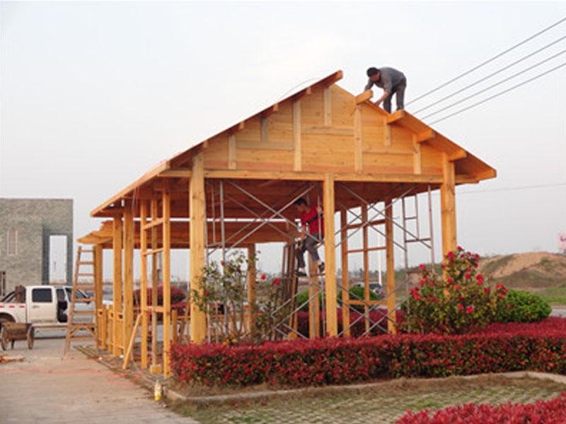 防腐生态木屋
