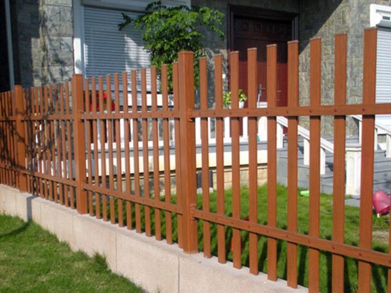 山东防腐木栅栏