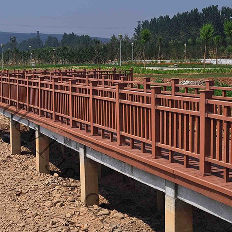 生态防腐木栅栏