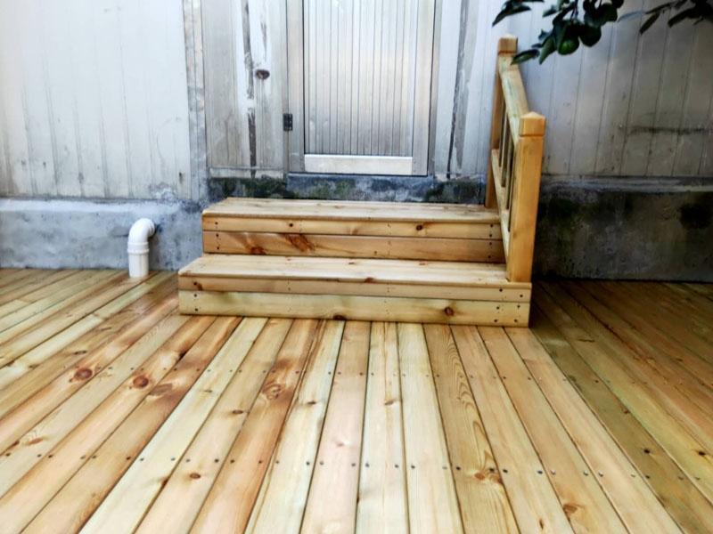 户外防腐木地板
