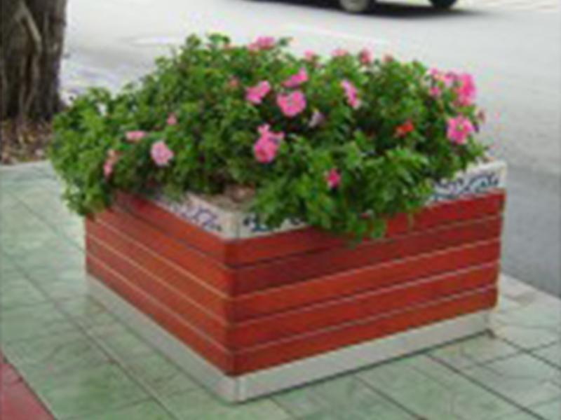 防腐木大花箱